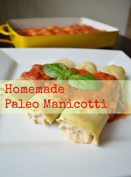 homemade paleo manicotti italian recipe